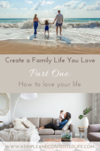 Create a family life you love with this five-part series. Find out how to reduce the overwhelm and eliminate the unessential. Take back control and start creating a life you don't want to take a vacation from.