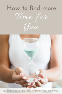 With life being so busy just how do we find more time for ourselves? By implementing these easy to follow steps.