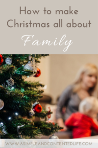 Want to make your Christmas more about family this year? Try these five fun and easy ways to have more quality time together.