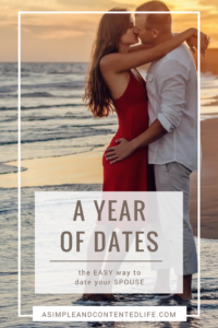Wish you could find the time to date your spouse more often? With a Year of Dates you can! This post reveals how.