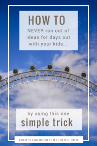 Coming up with ideas for days out with your kids can sometimes be a challenge. But not when you use national days as inspiration! This post shows you how to use national days as a way of finding ideas for days out with your kids. You'll never run out of ideas again!
