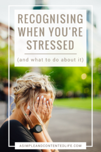 Recognising when you're stressed and reducing the effect stress has on us is easier than you might think. We just have to know what the warning signs are and do something about them BEFORE they get the better of us. Find out how to do just that in this guest post for Health and Style Club.