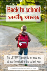 Getting back into the school routine after so many weeks off can be tough. But going back to school doesn't need to be hard or stressful. These great tips are going to make it so much easier for me! #backtoschool #backtoschooltips