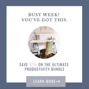 The Ultimate Productivity Bundle | Ultimate Bundles | Get Your Copy NOW!