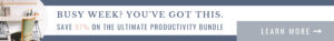 The Ultimate Productivity Bundle | Ultimate Bundles | Get Your Copy NOW!