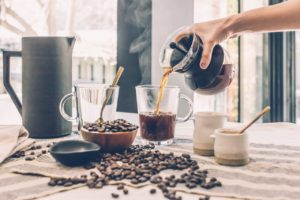 Image of coffee being poured for the blog post What Makes You Happy?