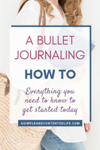 Totally confused by what bullet journaling is and how it works? Or daunted by all the beautiful bullet journal layouts on Instagram? You won't be after reading this post! In this bullet journaling how to, Nicole gives you everything you need to get started.