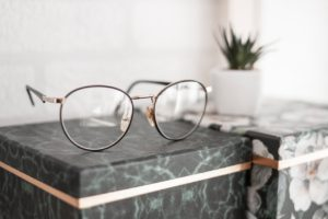 Image of a pair of glasses for the blog post How to Feel Like You Have it all Together...Even Though You Don't