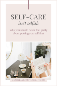 It's time to stop feeling guilty about taking time for you because guess what? Self-care isn't selfish, it's necessary. And in this post, I'm sharing five very good reasons why you should never feel guilty about putting yourself first. Learn how to be selfish without feeling guilty – and how to practice self-care without feeling selfish.