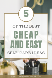Self-care doesn't have to be expensive. There are plenty of things you can do to make your wellbeing more of a priority that are either cheap or free. And in this post, I'm sharing five of my favourite cheap and easy self-care ideas that you can try today. The best self-care ideas for when you're on a budget. Inexpensive ideas for self-care days.