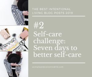 Image banner linking to the blog post: Self-care challenge - Seven days to better self-care