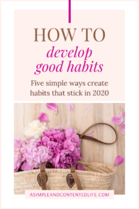 Want to develop good habits that help you to improve your health and wellbeing? Not sure how to create habits, make habits stick or have habits become part of your daily routine? In this post, I'm sharing my favourite book, podcast, YouTube video, blog post and freebie for figuring out which habits to adopt for success, to achieve your goals and live a better life. Click to find out what they are.