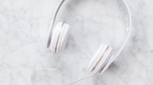 Image of a set of headphones for the blog post Become a Better You in 2020