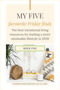 Want to lead a more minimalist lifestyle but don't know where to start? The resources in this post will help! I'm sharing my favourite minimalism book, minimalism podcast, minimalism blog post, YouTube video and freebie…all of which will help you clear the clutter, purge your belongings, simplify motherhood and embrace simplicity as you get started on your minimalist journey. Click to find out what they are.