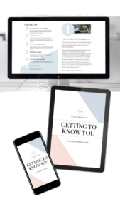 Image of the eBook Getting to Know You for the blog post How to Lead a More Minimalist Lifestyle