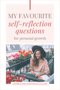 Want to get to know yourself better and figure out what you want out of life? Self-reflection questions are the way to do it. In this post, I'm sharing 100 thought-provoking self-reflection questions to help you get to know yourself on a deeper level so that you can create a life you love.