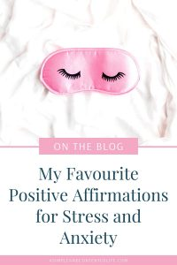 When you're going through a tough time, positive affirmations can help you to stay focused and maintain a positive mindset. In this post, I'm sharing my favourite positive affirmations for stress and anxiety so that you can use them too. I've also included a FREE printable so that you can download all of the positive affirmations too!