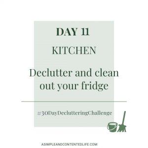 Decluttering Challenge Day 11 - Kitchen