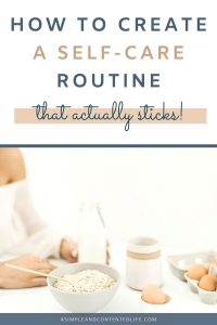 Having a daily self-care routine helps you make sure you're making your wellbeing a priority and that you're giving yourself the attention you know you deserve. But how do you make your self-care routine a habit? By following the simple five-step process I'm sharing in this post!