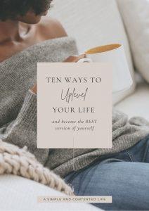 10 Ways to Uplevel Your Life eBook