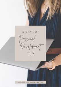 A Year of Personal Development Tips eBook