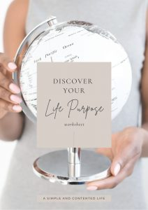 Discover Your Life Purpose Workbook