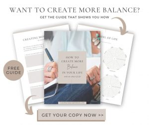 Create more balance and feel like your life has more purpose with this fun free tool - The Wheel of Life