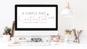 Image of the A Simple and Contented Life Digital Freebie Vault